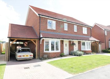 Thumbnail 3 bed semi-detached house for sale in Deer Park View, Great Bardfield