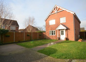 Thumbnail 4 bed detached house for sale in Park Meadows, Lowestoft