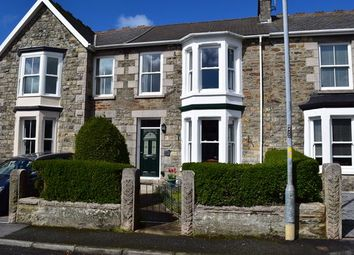 Thumbnail 3 bed terraced house for sale in Claremont Road, Redruth