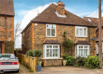 Thumbnail 3 bed semi-detached house for sale in Trindles Road, South Nutfield, Redhill, Surrey