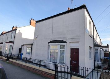 Thumbnail 2 bed end terrace house to rent in Albemarle Street, Hull