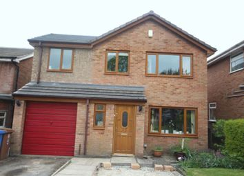 Thumbnail 4 bedroom detached house for sale in Bittern Close, Bamford, Rochdale