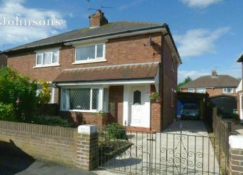 Thumbnail 2 bed semi-detached house for sale in Fairfield Road, York Road, Doncaster.