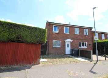Thumbnail 2 bed terraced house to rent in Branton Close, Luton