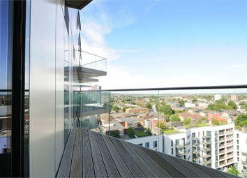 Thumbnail 1 bedroom flat to rent in Tennyson Apartments, Saffron Central Square, Croydon, Surrey