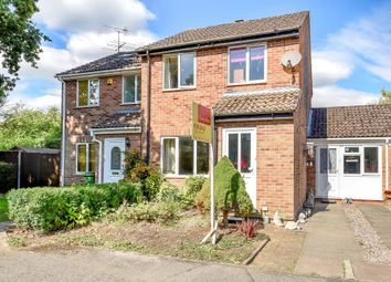 Thumbnail 3 bed semi-detached house for sale in Hebden Close, Thatcham