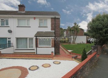 Thumbnail 3 bedroom semi-detached house for sale in St Erth Road, Manadon, Plymouth