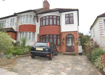 Thumbnail 3 bed semi-detached house to rent in St Thomas Road, Southgate