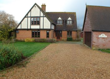 Thumbnail 4 bed detached house to rent in Silver Street, Godmanchester, Huntingdon