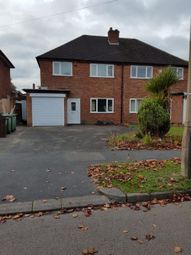 Thumbnail 3 bed semi-detached house to rent in St. Gerards Road, Shirley, Solihull
