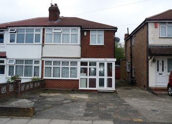 Thumbnail 3 bed semi-detached house for sale in Streatfield Road, Kenton