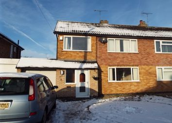 Thumbnail 3 bedroom semi-detached house to rent in Mayfield Drive, Wigston