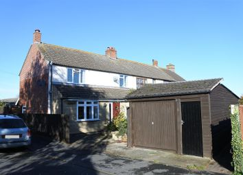 Thumbnail 3 bed semi-detached house for sale in Strouds Close, Hose, Melton Mowbray