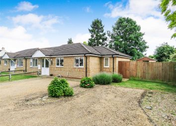 Thumbnail 2 bed bungalow for sale in Manor Close, Wyton, Huntingdon, Cambridgeshire