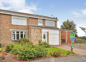 Thumbnail 4 bed semi-detached house for sale in Green Court, Esh, Durham