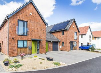 Thumbnail 3 bed detached house for sale in Fieldfare Way, Swaffham