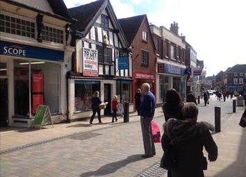 Thumbnail Retail premises to let in 22 High Street, Uttoxeter, Staffordshire