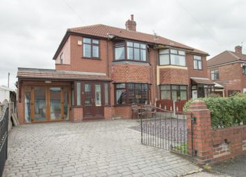 Thumbnail 3 bedroom semi-detached house for sale in Nina Drive, Blackley, Manchester