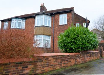 Thumbnail 4 bed semi-detached house for sale in Nuns Moor Crescent, Fenham, Newcastle Upon Tyne