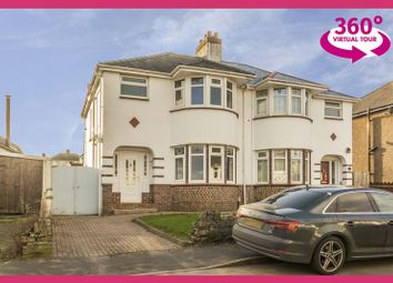 Thumbnail 3 bed semi-detached house for sale in Badminton Road, Newport
