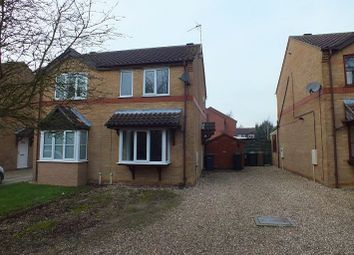 Thumbnail 2 bed semi-detached house for sale in Ingledew Close, Heckington