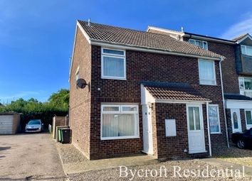 Thumbnail 2 bed end terrace house for sale in Marlborough Green Crescent, Martham, Great Yarmouth
