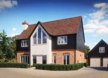 Thumbnail 4 bedroom detached house for sale in Chearsley Road, Long Crendon, Aylesbury