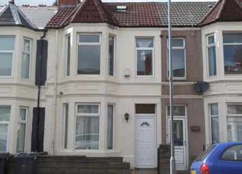 Thumbnail 5 bed terraced house for sale in Dogfield Street, Cardiff
