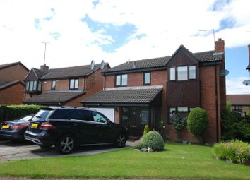 Thumbnail 4 bedroom detached house for sale in Westwell Court, South Gosforth, Newcastle Upon Tyne