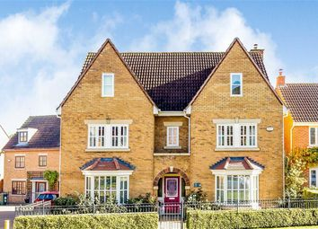 Thumbnail 6 bed detached house for sale in Vernier Crescent, Medbourne, Milton Keynes, Bucks