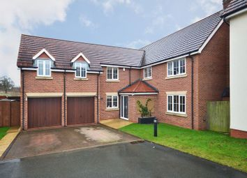 Thumbnail 6 bed detached house for sale in Chadwell Court, Weston, Crewe