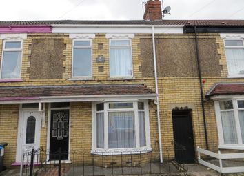 Thumbnail 3 bed terraced house to rent in Hardy Street, Hull
