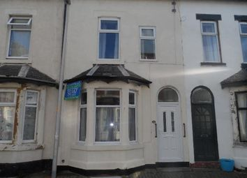 Thumbnail 5 bed terraced house to rent in Garden Terrace, Blackpool