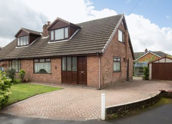 Thumbnail 3 bedroom semi-detached bungalow to rent in Hinds Head Avenue, Wrightington, Wigan