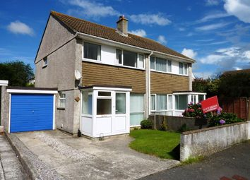 Thumbnail 3 bed semi-detached house to rent in Glyn Way, Threemilestone, Truro