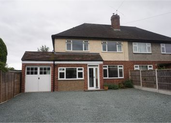 Thumbnail 3 bed semi-detached house for sale in Kingswood Crescent, Shrewsbury