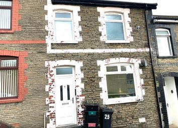 Thumbnail 3 bed terraced house to rent in Pantglas Road, Aberfan, Merthyr Tydfil