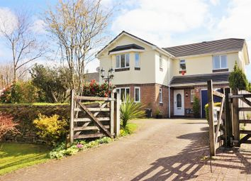 Thumbnail 4 bed detached house for sale in Lake Lane, Liskeard