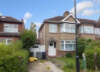 Thumbnail 3 bedroom end terrace house to rent in Byron Avenue, Kingsbury