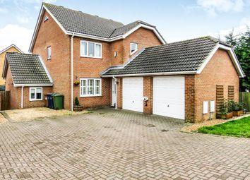 Thumbnail 5 bedroom detached house for sale in Doddington Road, Wimblington, March