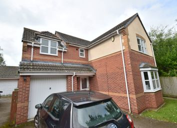 Thumbnail 4 bed barn conversion for sale in Woodlands Court, Oadby, Leicester