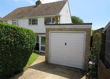 Thumbnail 3 bed semi-detached house to rent in Merston Close, Brighton