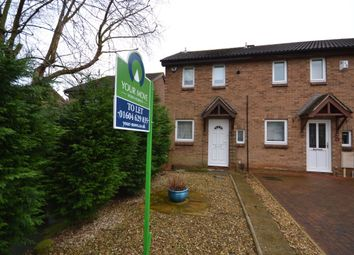 Thumbnail 2 bedroom property to rent in Tiptoe Close, Northampton