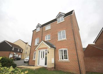 Thumbnail 4 bedroom detached house for sale in Mustang Way, Swindon