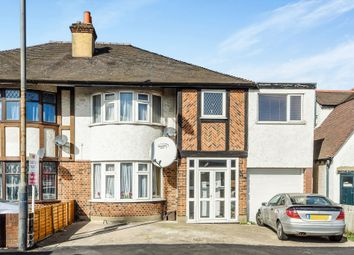 Thumbnail 3 bed semi-detached house for sale in Hook Rise North, Tolworth, Surbiton