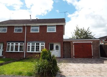 Thumbnail 3 bed semi-detached house to rent in Greenacres Drive, Uttoxeter