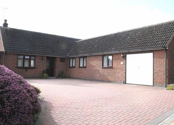 Thumbnail 3 bed detached bungalow for sale in Chapel Lane, Ratby, Leicester