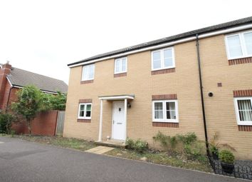 Thumbnail 3 bed end terrace house to rent in Carnegie Walk, Exeter