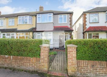 Thumbnail 3 bedroom end terrace house for sale in Moira Close, Luton