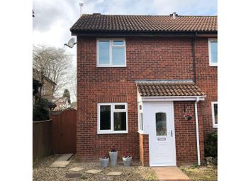 Thumbnail 2 bed semi-detached house for sale in Clover Mead, Taunton